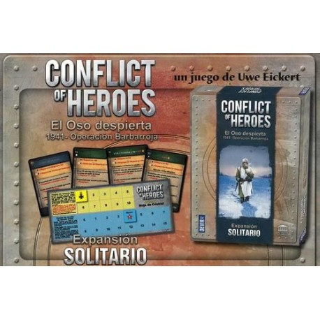 CONFLICT OF HEROES: SOLO EXPANSION