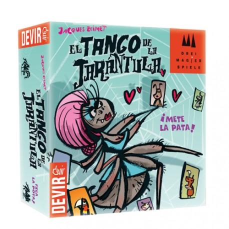 Caja del juego de cartas El Tango de la Tarántula Bichos