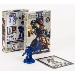 Miniature Space Marine Hero Series 1 of Warhammer 40,000