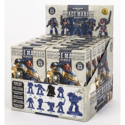 Box with 12 miniatures Space Marine Hero Series 1 of Warhammer 40,000