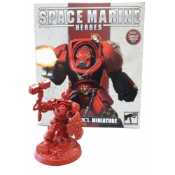 Miniature Space Marine Hero Serie 2 of Warhammer 40,000