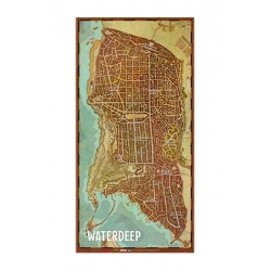 Dungeons & Dragons: Mapa De La Ciudad De Waterdeep