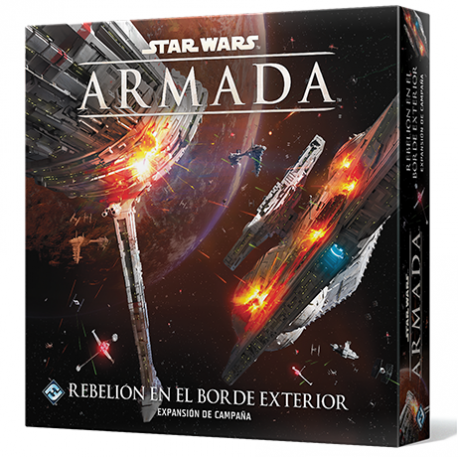 Juego de mesa Star Wars: Armada Rebelión En El Borde Exterior de Fantasy Flight Games