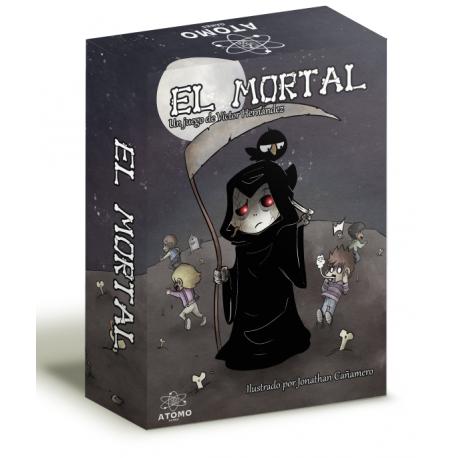 El mortal es un juego de cartas rápido, simpático y divertido donde el objetivo será sobrevivir a la muerte
