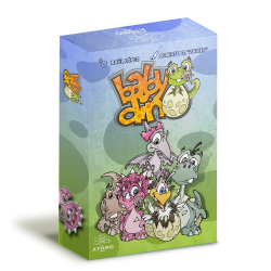 Baby Dino is a game to enjoy with family or friends in this friendly game of dice management.