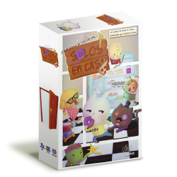 Alone at home is a card game for the little ones of the house from Átomo Games