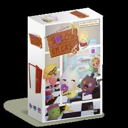 Solos en casa es un juego de cartas para los pequeños de la casa de parte de Átomo Games