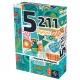5211 es un juego de cartas rápido que no solo cuenta con un sistema de puntuación único