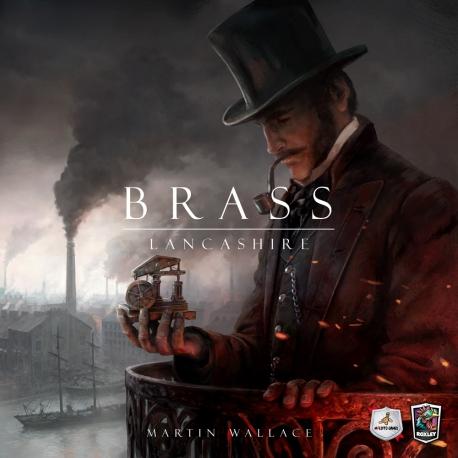 Brass Lancashire es un juego estratégico de codicia feroz, expandirás tu imperio construyendo canales y líneas de ferrocarril