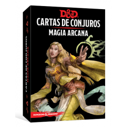 JUEGO DE ROL DUNGEONS & DRAGONS: CARTAS DE CONJUROS - MAGIA ARCANA DE EDGE ENTERTAINMENT