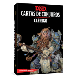 JUEGO DE ROL DUNGEONS & DRAGONS: CARTAS DE CONJUROS - CLÉRIGO DE EDGE ENTERTAINMENT