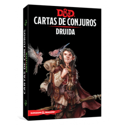 JUEGO DE ROL DUNGEONS & DRAGONS: CARTAS DE CONJUROS - DRUIDA DE EDGE ENTERTAINMENT