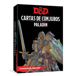 JUEGO DE ROL DUNGEONS & DRAGONS: CARTAS DE CONJUROS - PALADÍN DE EDGE ENTERTAINMENT