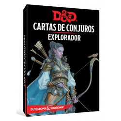 JUEGO DE ROL DUNGEONS & DRAGONS: CARTAS DE CONJUROS - EXPLORADOR DE EDGE ENTERTAINMENT