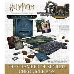 The Chamber of Secrets: Chronicle Box (Spanish) Harry Potter Miniatures Adventure Games from Knight Models reference HPMAG17