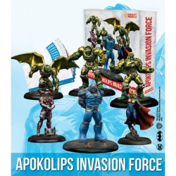 Apokolips Batman Miniature game from Knight Models reference DCUN045