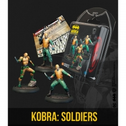 Kobra Soldiers Batman Miniature game from Knight Models reference 35DC254