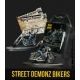 Street Demonz Bikers Batman Miniature game from Knight Models reference 35DC253