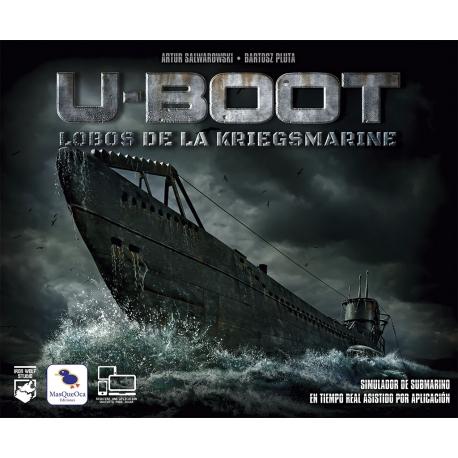 Wargame U-Boot Lobos de la Kriegsmarine de Ediciones MasQueOca