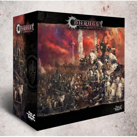Juego de mesa de miniaturas Conquest Core Set de Para Bellum Wargames