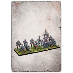 Expansion Mercenary Crossbowmen Conquest miniatures board game for Bellum Wargames