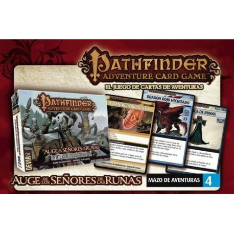 PATHFINDER - CARD GAME EXPANSION FORTRESS (IN SPANISH)