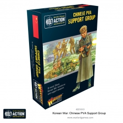 Chinese Pva Support Group Bolt Action de Warlord Games referencia 402218101