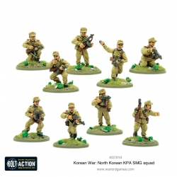North Korean Kpa Smg Squad Bolt Action de Warlord Games referencia 402218104
