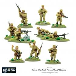 North Korean Kpa Lmg Squad Bolt Action de Warlord Games referencia 402218102
