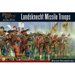 Landsknecht Missile Troops Pike And Shotte de Warlord Games referencia 202016003