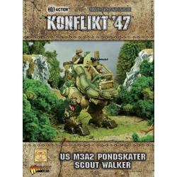 Us M3A2 Pondskater Scout Walker