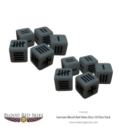German Blood Red Skies Dice Dados de Warlord Games referencia 773412001