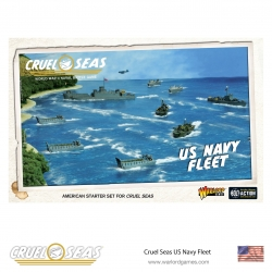 Us Navy Fleet Cruel Seas de Warlord Games referencia 782611002