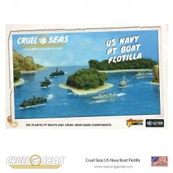Us Navy Pt Boat Flotilla Cruel Seas de Warlord Games referencia 782011002