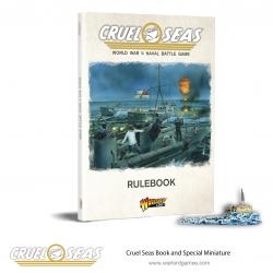 Cruel Seas Rulebook Cruel Seas de Warlord Games referencia 781010001