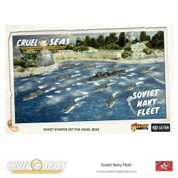 Soviet Navy Fleet Cruel Seas de Warlord Games referencia 782611003