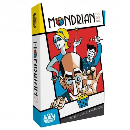 Mondrian card game from Tranjis Games