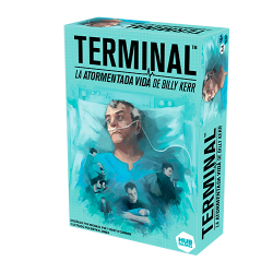 Billy Kerr Terminal La Tormented Life cooperative board game from The Creativity Hub
