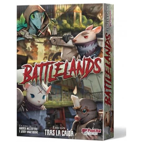 Battlelands es un rápido y frenético juego de cartas de guerra de bandas de Plaid Hat Games