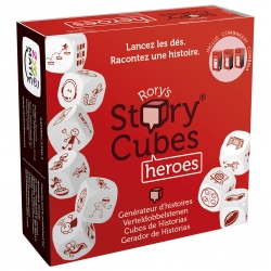 TABLE GAME STORY CUBES HEROES DE ASMODEE 3558380067146
