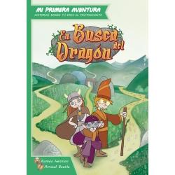 Libro juego de rol para niños En Busca del Dragón de Maldito Games