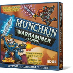 JUEGO DE MESA MUNCHKIN WARHAMMER 40.000 DE EDGE ENTERTAINMENT