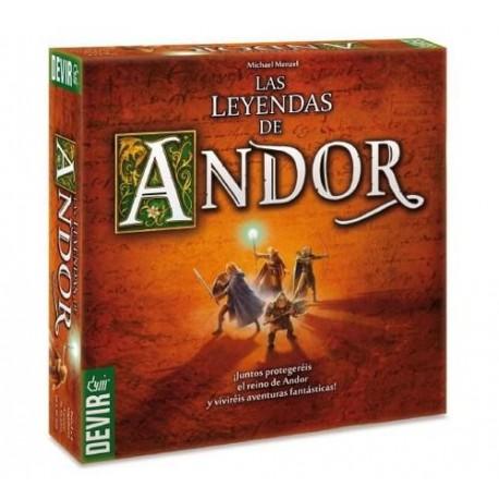 Las Leyendas De Andor juego de mesa de estrategia de Devir