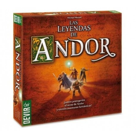 The Legends Of Andor game table strategy Devir