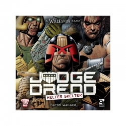 Juego de mesa de importación Judge Dredd: Helter Skelter de Osprey Games