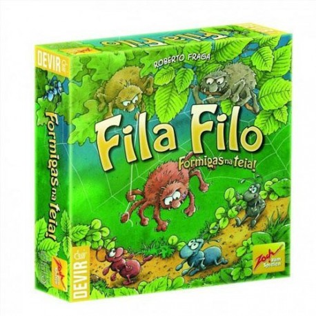Fila Filo is a simple magnetic skill game for younger children