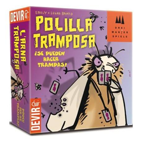 Caja del mejor juego del año 2012 Bichos - La polilla Tramposa