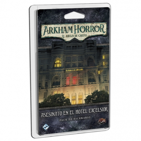 Expansion Arkham Horror Lcg Murder at the Excelsior Hotel from Fantasy Flight Games