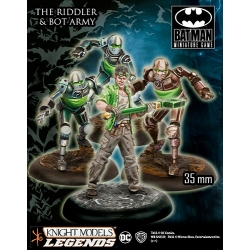 The Riddler And Bot Army