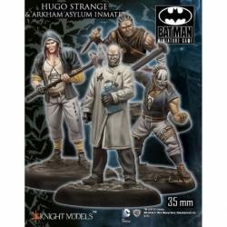 Hugo Strange And Arkham Asylum Inmates